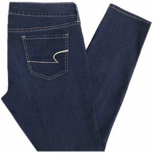 American Eagle Dark Wash Jeggings Jeans